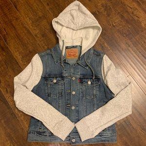 Levi's Jean Hoodie Jacket